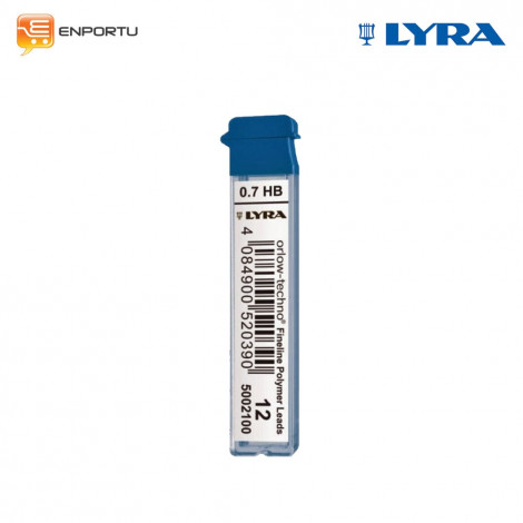 Lyra Mechanical Pencil Orlow - Techno Leads Refill 0.7 mm HB