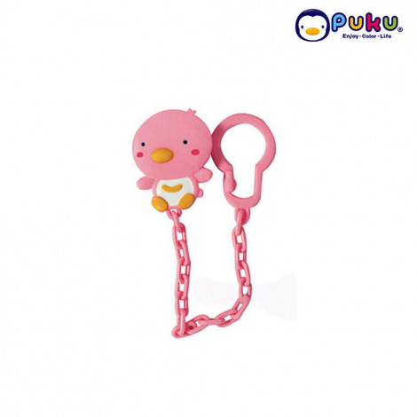 Puku Pacifier Chain 11105 - Pink