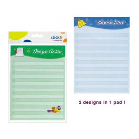 Stick'n Schedule Notes 21302 ( 2in1 Things To Do )