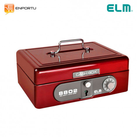 ELM Cash Box 8802-red mika