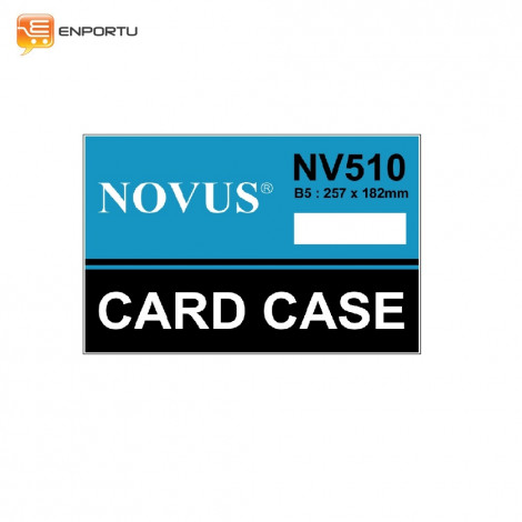 Novus Card Case B5 NV-510 (257 x 182 mm)