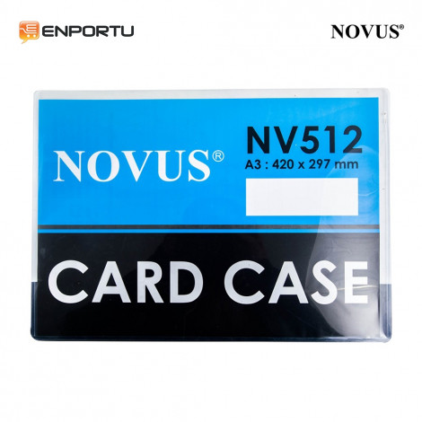 Novus Card Case A3 NV-512 (420 x 297 mm)