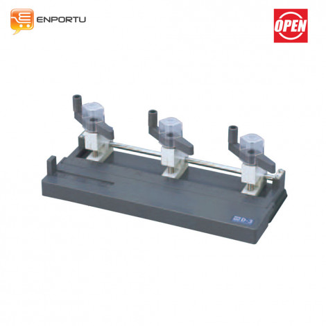 OPEN Drill Punch D-3 (3 Hole)