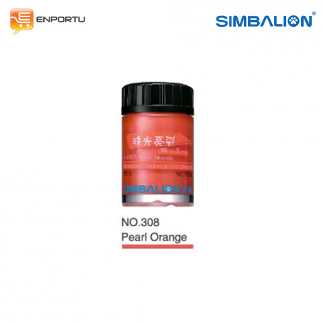 SIMBALION Cat Poster 15cc Individual Colors No. 308 Pearl Orange