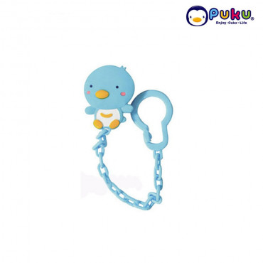 Puku Pacifier Chain 11105 - Blue