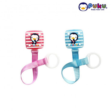Puku Pacifier Chain 11114 Square Stripe