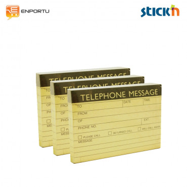 Stick'n beautone 11440 Telephone Message ( 1 Set : 3 Pcs )