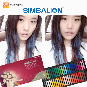 SIMBALION Hair Chalk 48 Colors