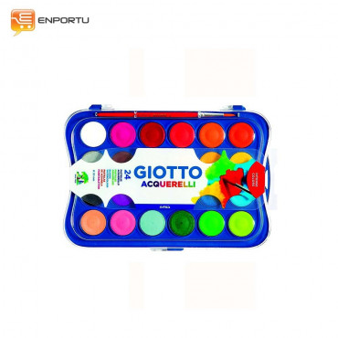 GIOTTO Watercolor Block 30mm 24 Colors