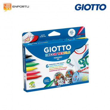 Giotto Decor Textile 6 Warna