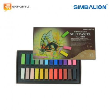 Jual SIMBALION Soft Pastel Half Size HSP-24