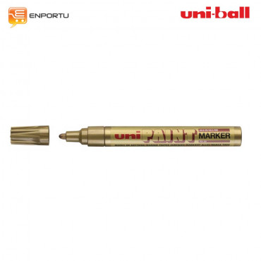 UNI Ball Uni Paint Permanent Marker PX-20-gold