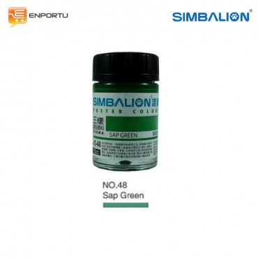 SIMBALION Cat Poster 15cc Individual Colors No. 48 Van Sap Green
