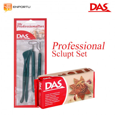 Paket DAS Sculpt Professional Set Brown - 1000 gr