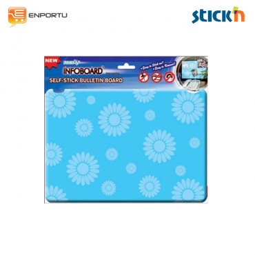 Stick'n Self-Stick Infoboard 23036 ( 21 x 29.7 cm) Frostly Flower
