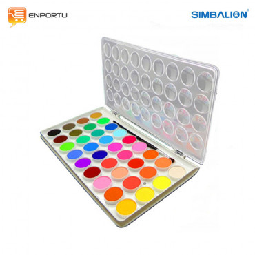 Jual Cat Air SIMBALION Water Color Cake (36 Colors)
