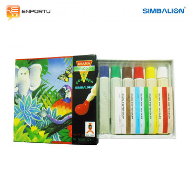 SIMBALION Poster Color 12 cc PT-6P