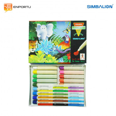 SIMBALION Poster Color 12 cc PT-18P
