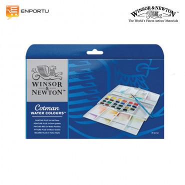 WINSOR & NEWTON Cotman Water Color Sketcher Pocket 24 Set