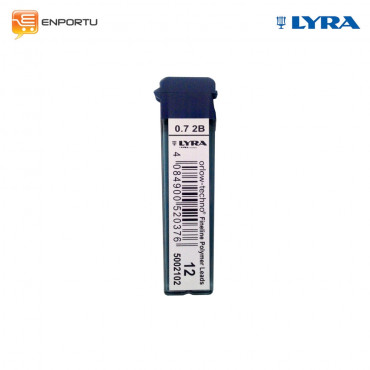 Lyra Mechanical Pencil Orlow - Techno Leads Refill 0.7 mm 2B
