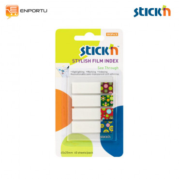 STICK'N Imprinted Clearnotes 21383 Spots