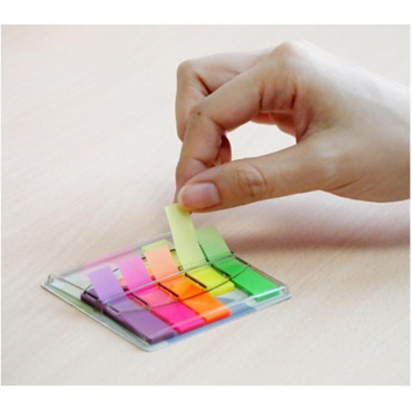"""Stick'n  Pop-Up Flags 26004 Film Index 5 colors """"Sign Here"""""""