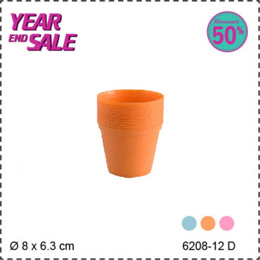 Claris CF Pot Bibit 6208-12 D - Orange