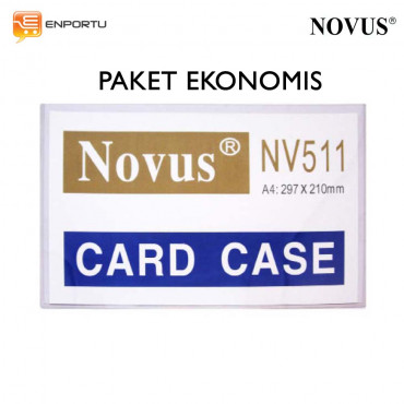 Jual Card Cases NOVUS NV-511 A4 Paket Ekonomis - (297 x 210 mm)