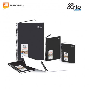 ARTO Wire- O PP Cover Sketch Book 110gsm A5