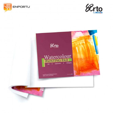 ARTO Watercolour Paper Pad 300gsm A4