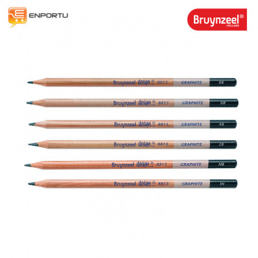 Bruynzeel Graphite Pencil 6 Set