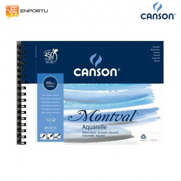 CANSON Montval Water Color Pad 24 x 32 cm 300 GSM
