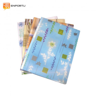 KINARY - Clear Book Fancy Flower/CP-720 (A4)