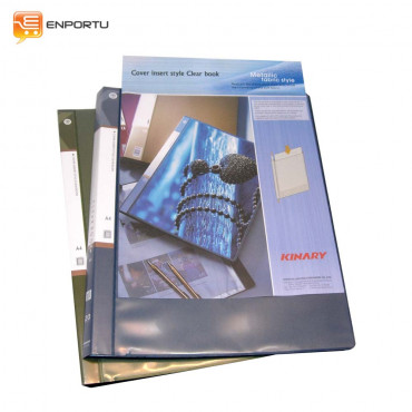 KINARY Clear Book Front Pocket CF-1220 (A4)