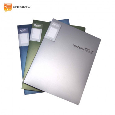 KINARY Clear Book Metallic (F4)