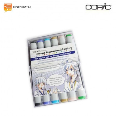 Copic Sketch Manga Illustration 24 Color set