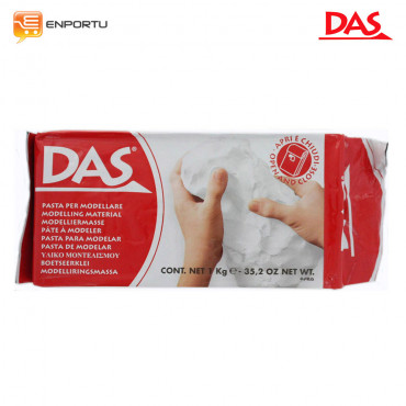 DAS Clay White - 1000 gr