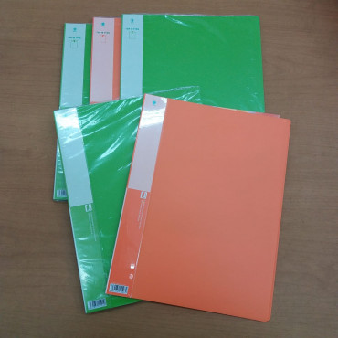Kinary Clear File Holder (10 Sheets) HL-110