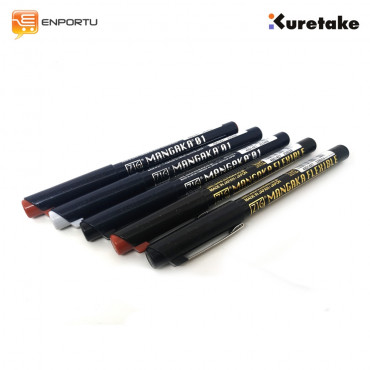 KURETAKE Mangaka Drawing Pen + Flexible Pen Set