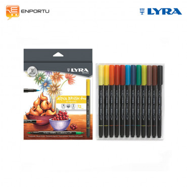 LYRA Aqua Brush Duo 12 colors