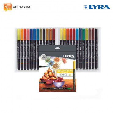 LYRA Aqua Brush Duo 24 colors