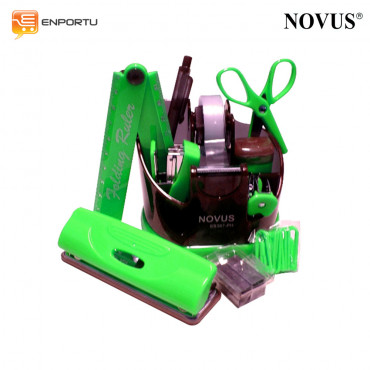 Novus Stationery Set SS387-PH Green