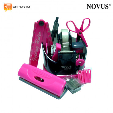 Novus Stationery Set SS387-PH Pink