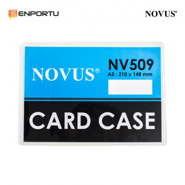 Novus Card Case A5 NV-509 (210 x 148 mm) (pcs)
