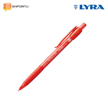 Lyra Mechanical Pencil Orlow - Techno MERAH 0.7