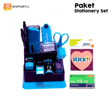 Paket Stationery Set- Blue