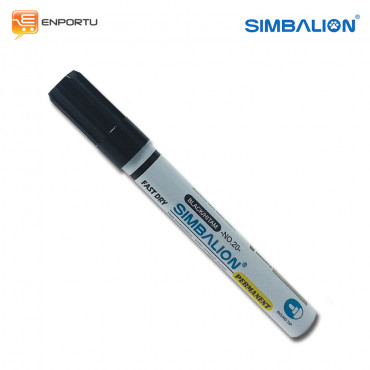 SIMBALION Spidol Permanent Black