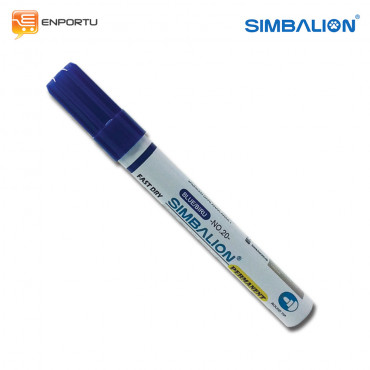 SIMBALION Spidol Permanent Blue