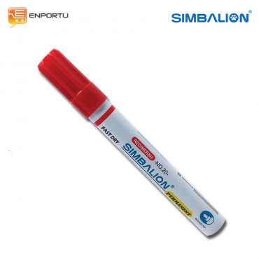 SIMBALION Spidol Permanent Red