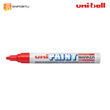 UNI Ball Uni Paint Permanent Marker PX-20-red